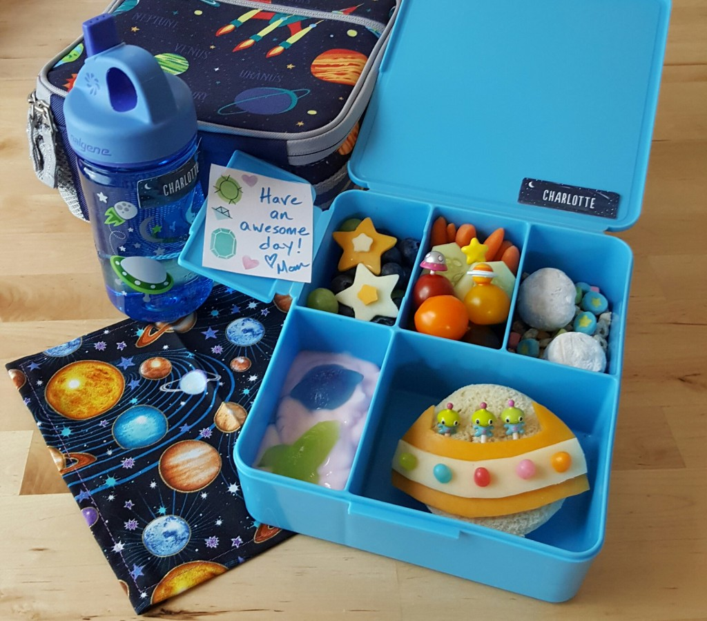 A Space Themed Lunch Liciouslunches